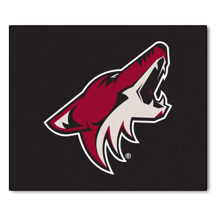NHL - Arizona Coyotes Tailgater Rug 5'x6' From Fan Cave Rugs