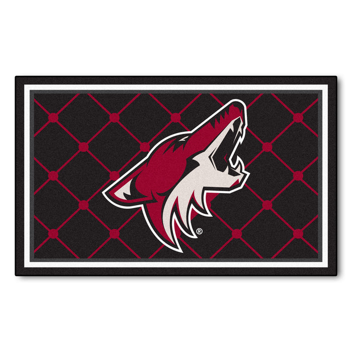 "NHL - Arizona Coyotes 4x6 Rug 44""x71"""