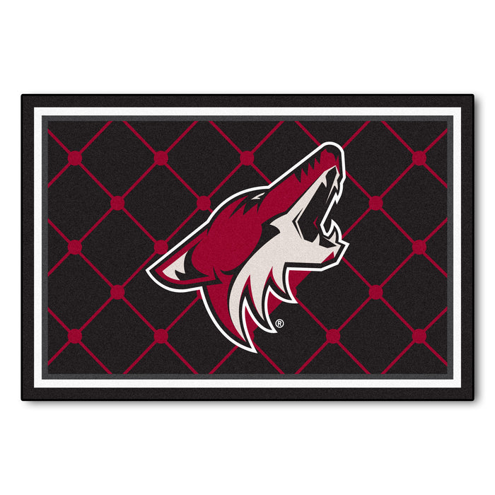 "NHL - Arizona Coyotes 5x8 Rug 59.5""x88"""