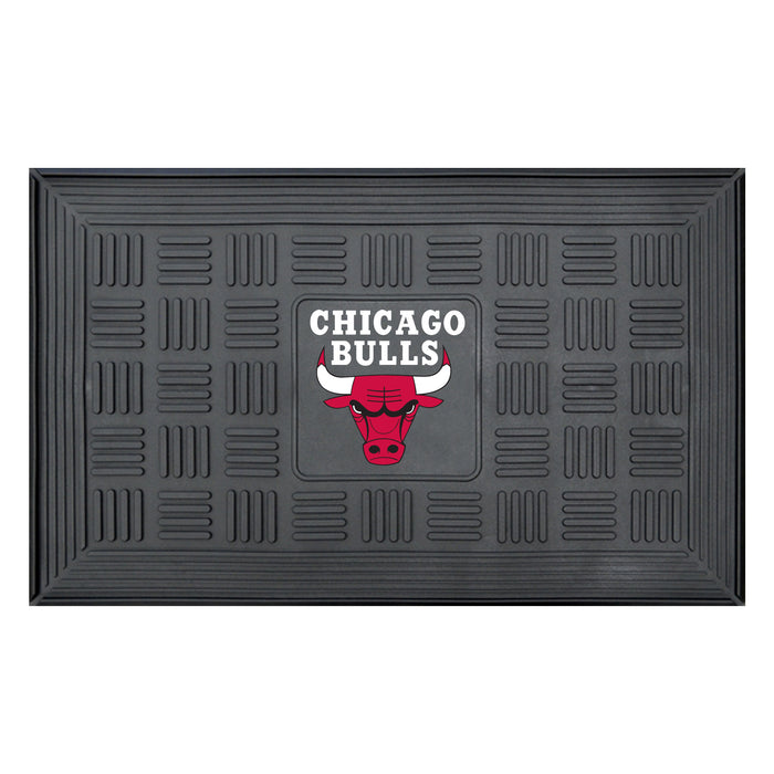 "NBA - Chicago Bulls Door Mat 19.5""x31.25"" - Fan Cave Rugs"