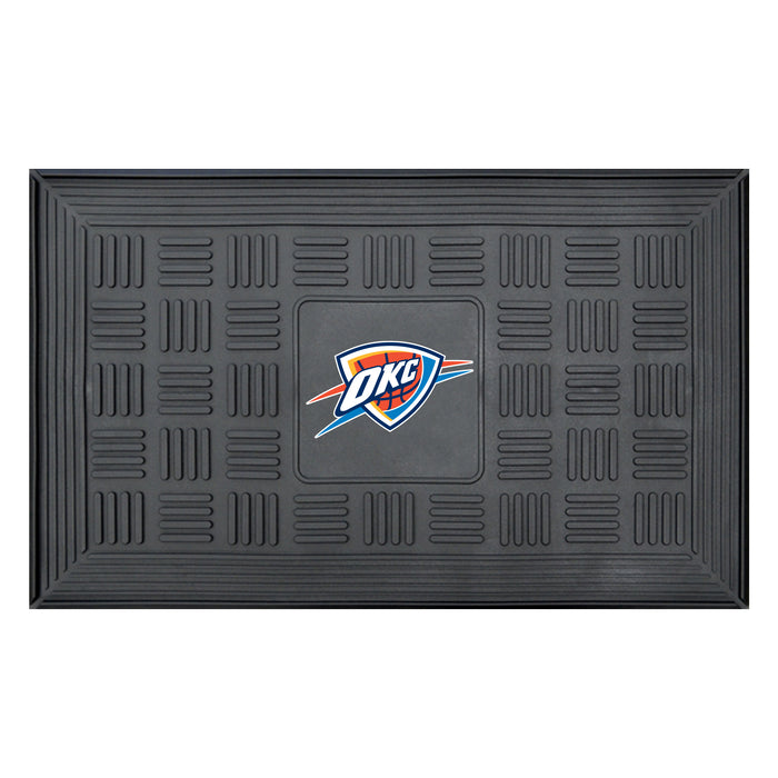 "NBA - Oklahoma City Thunder Door Mat 19.5""x31.25"""