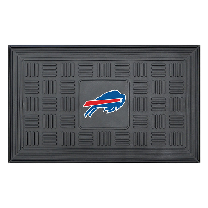 Fan Cave Rugs:Buffalo Bills Medallion Door Mat