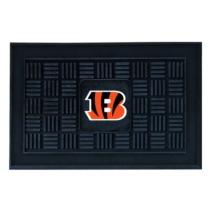 Fan Cave Rugs:Cincinnati Bengals Medallion Door Mat