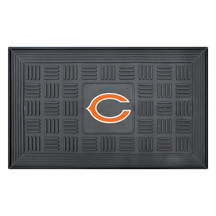 Fan Cave Rugs:Chicago Bears Medallion Door Mat