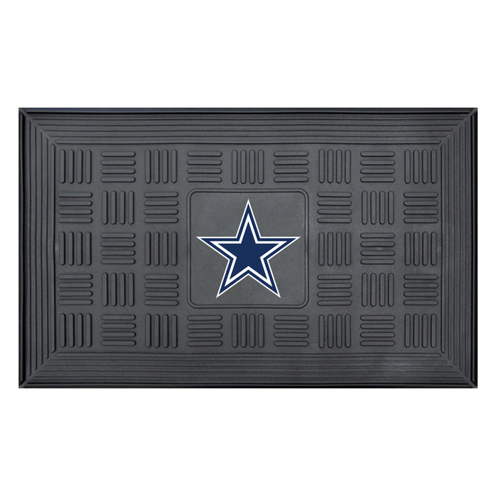 Fan Cave Rugs:Dallas Cowboys Medallion Door Mat