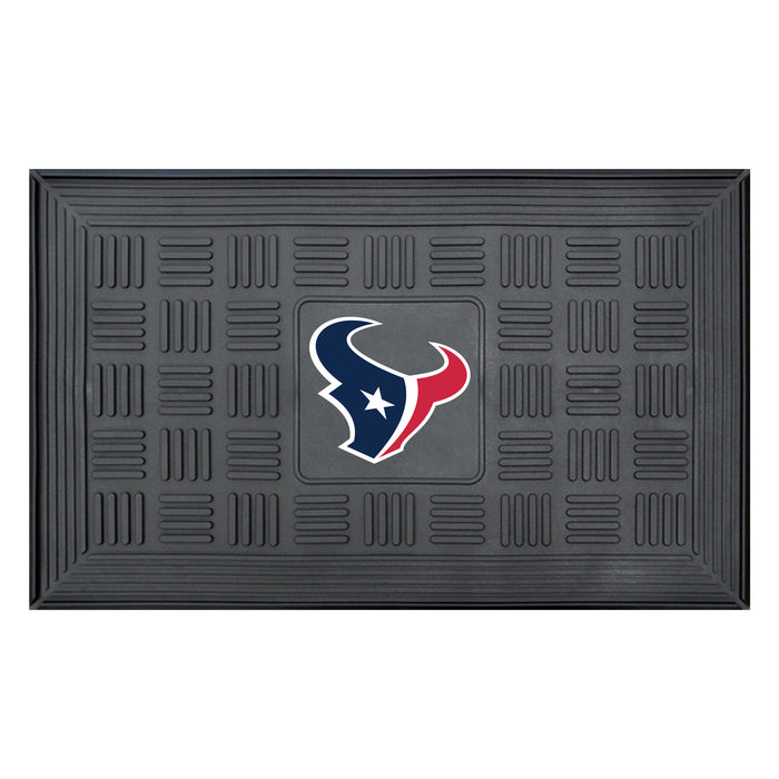 Fan Cave Rugs:Houston Texans Medallion Door Mat