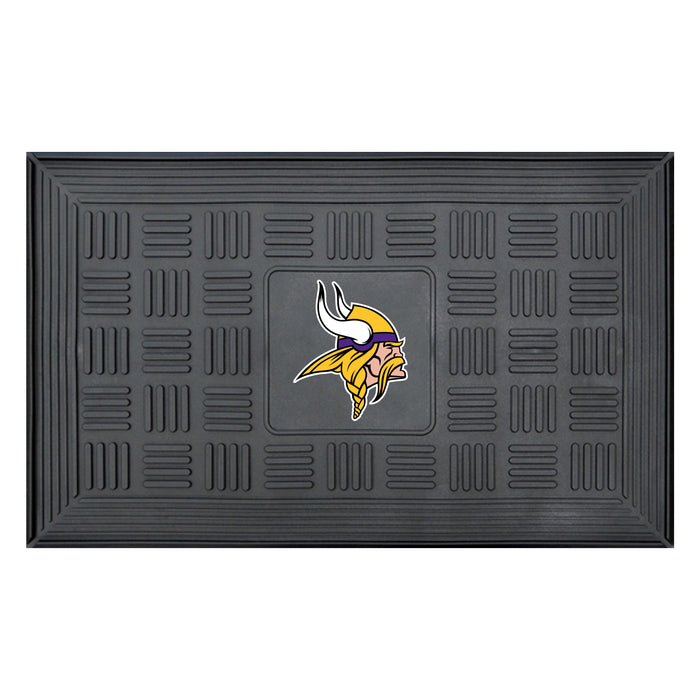 Fan Cave Rugs:Minnesota Vikings Medallion Door Mat