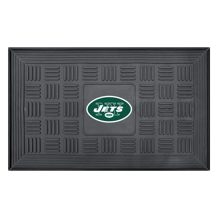 Fan Cave Rugs:New York Jets Medallion Door Mat