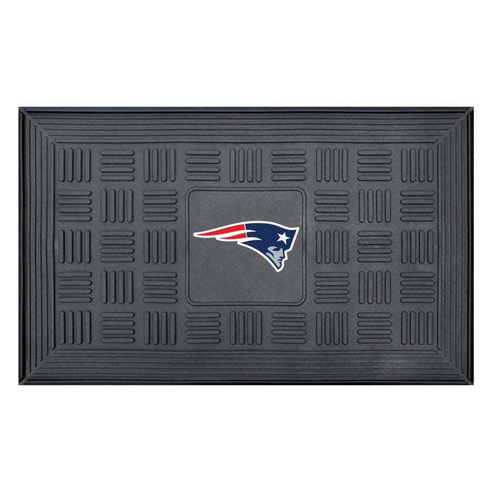 Fan Cave Rugs:New England Patriots Medallion Door Mat