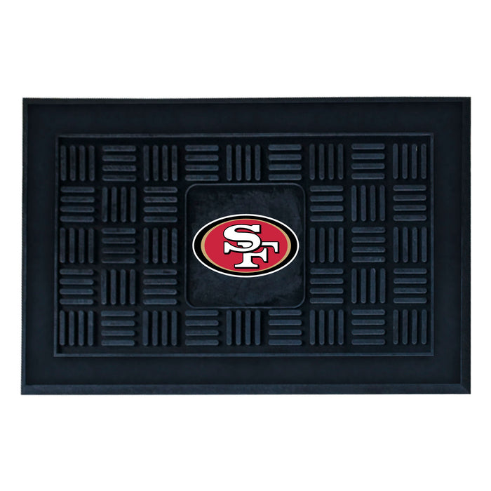 Fan Cave Rugs:San Francisco 49ers Medallion Door Mat