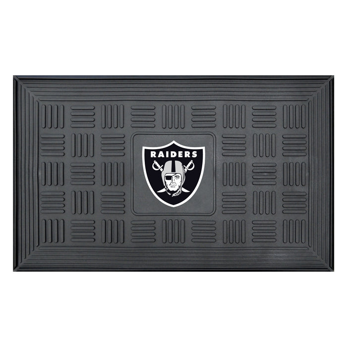 Fan Cave Rugs:Oakland Raiders Medallion Door Mat