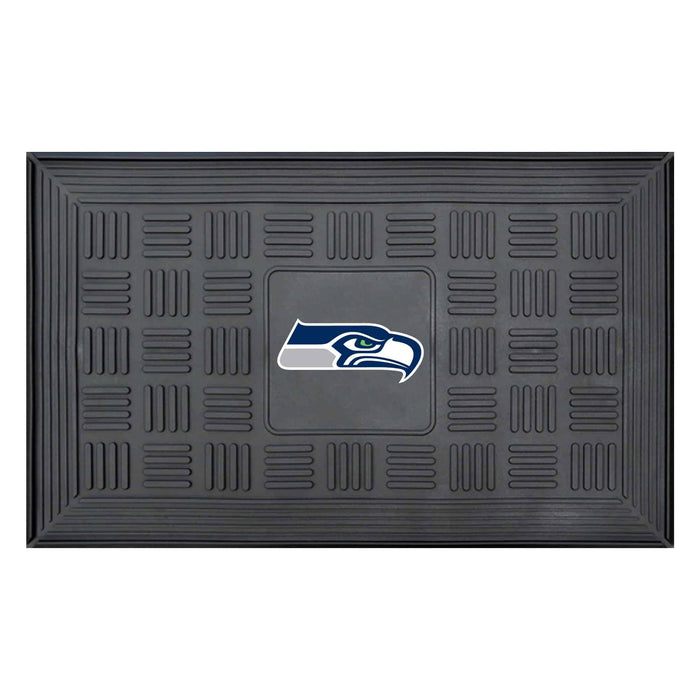 Fan Cave Rugs:Seattle Seahawks Medallion Door Mat