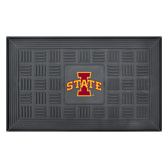 "Iowa State Door Mat 19.5""x31.25"""