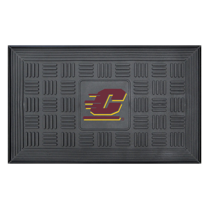"Central Michigan Door Mat 19.5""x31.25"""