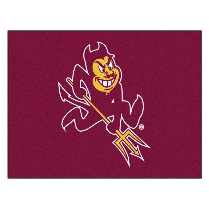 "Arizona State All-Star Mat 33.75""x42.5"" From Fan Cave Rugs"