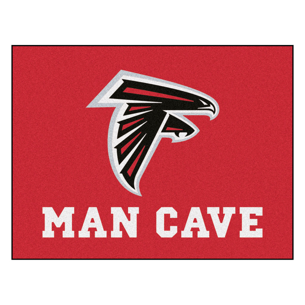"NFL - Atlanta Falcons Man Cave All-Star Mat 33.75""x42.5"""