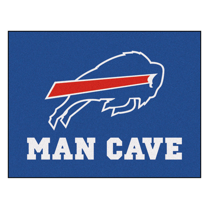 "NFL - Buffalo Bills Man Cave All-Star Mat 33.75""x42.5"""