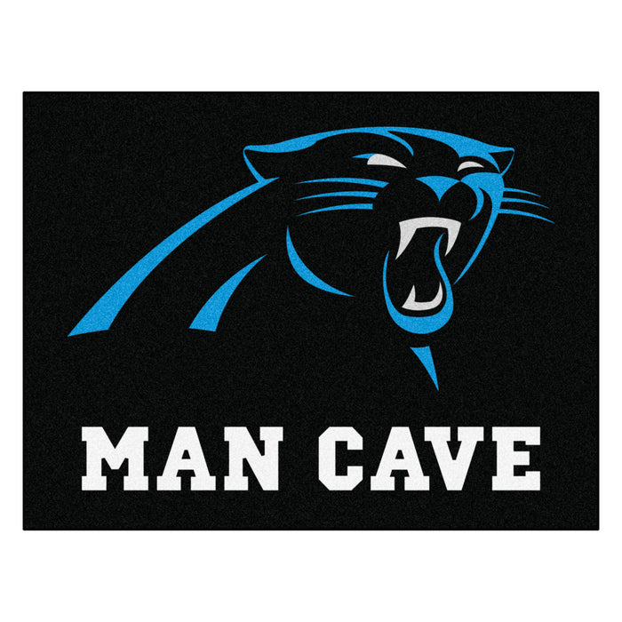 "NFL - Carolina Panthers Man Cave All-Star Mat 33.75""x42.5"""