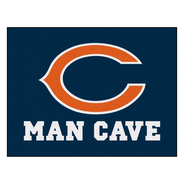 "NFL - Chicago Bears Man Cave All-Star Mat 33.75""x42.5"""