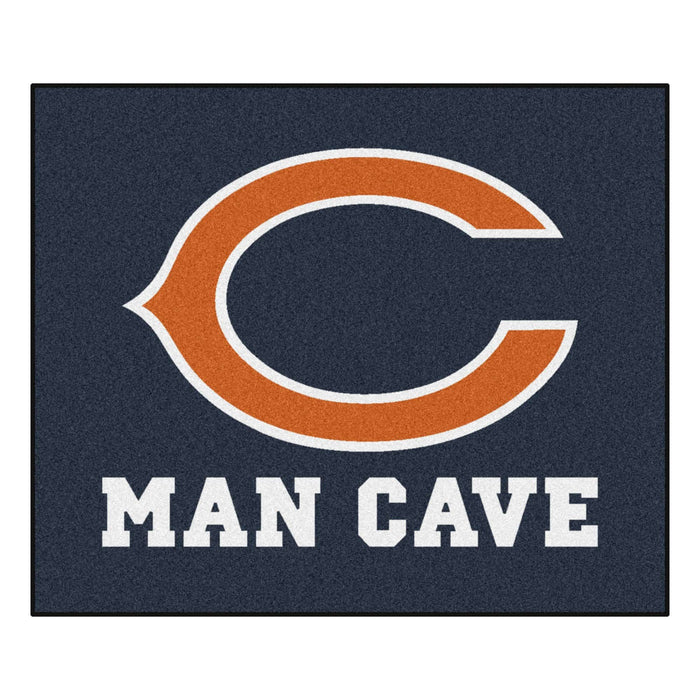 Chicago Bears Man Cave Tailgater Rug