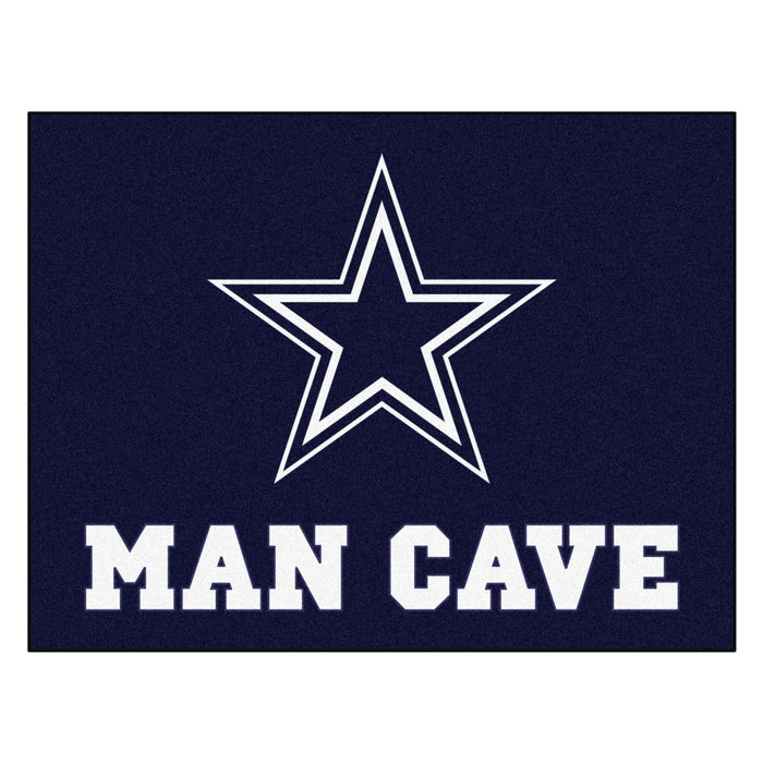 "NFL - Dallas Cowboys Man Cave All-Star Mat 33.75""x42.5"""