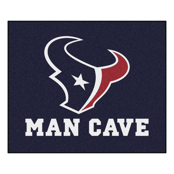Houston Texans Man Cave Tailgater Rug