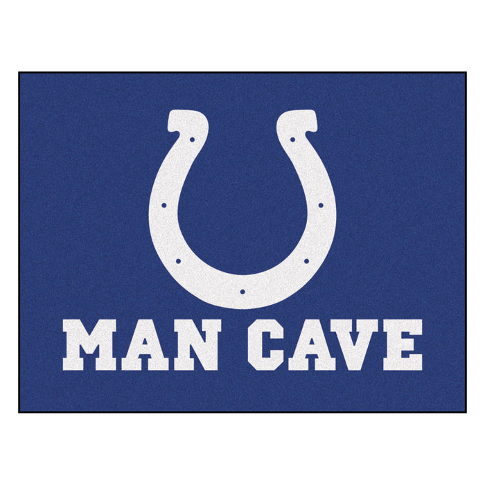 "NFL - Indianapolis Colts Man Cave All-Star Mat 33.75""x42.5"""