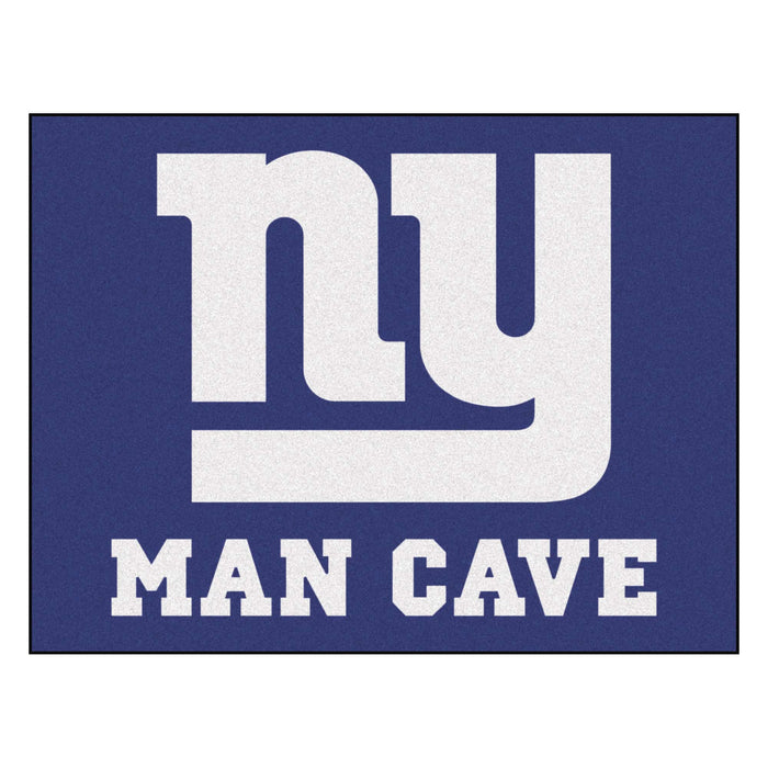 "NFL - New York Giants Man Cave All-Star Mat 33.75""x42.5"" - Fan Cave Rugs"