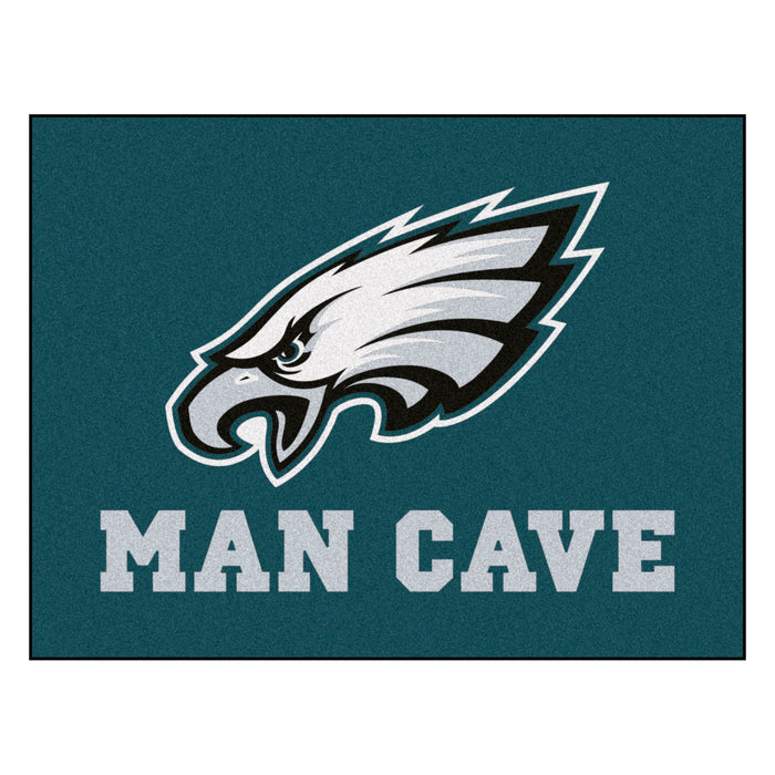 "NFL - Philadelphia Eagles Man Cave All-Star Mat 33.75""x42.5"" - Fan Cave Rugs"