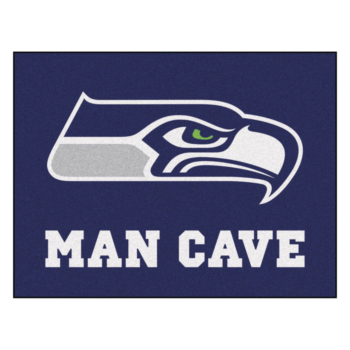 "NFL - Seattle Seahawks Man Cave All-Star Mat 33.75""x42.5"""
