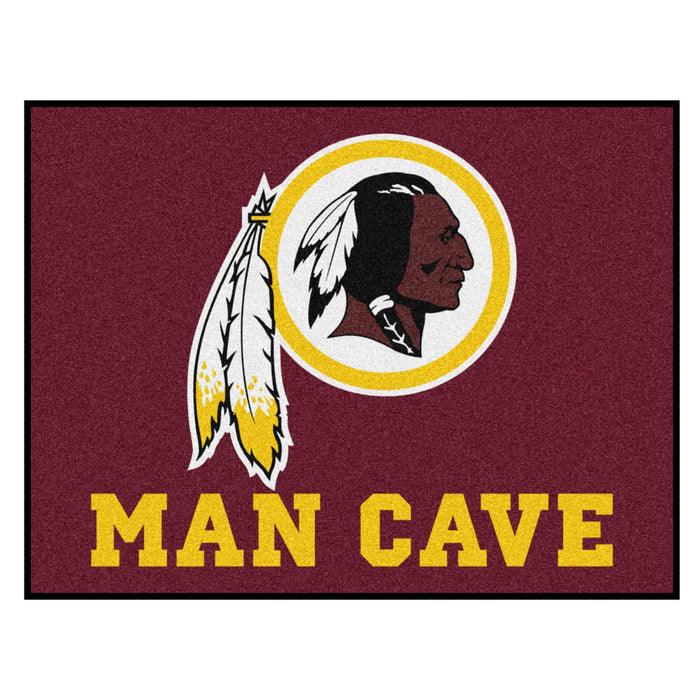 "NFL - Washington Redskins Man Cave All-Star Mat 33.75""x42.5"" - Fan Cave Rugs"
