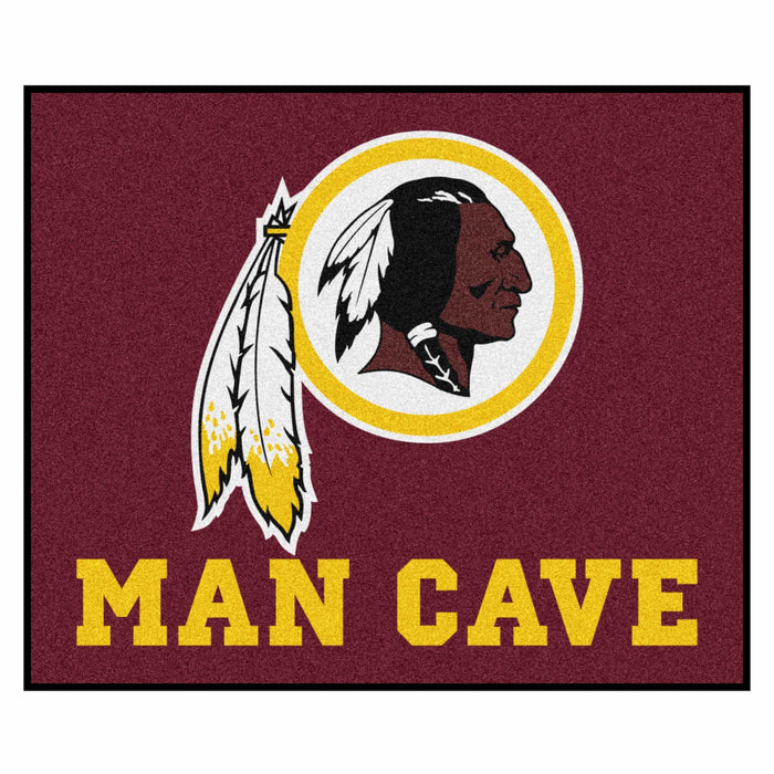 NFL - Washington Redskins Man Cave Tailgater Rug 5'x6' - Fan Cave Rugs