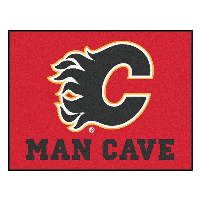 "NHL - Calgary Flames Man Cave All-Star Mat 33.75""x42.5"""