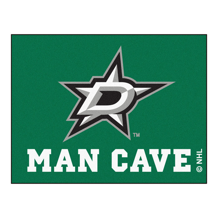 "NHL - Dallas Stars Man Cave All-Star Mat 33.75""x42.5"" - Fan Cave Rugs"