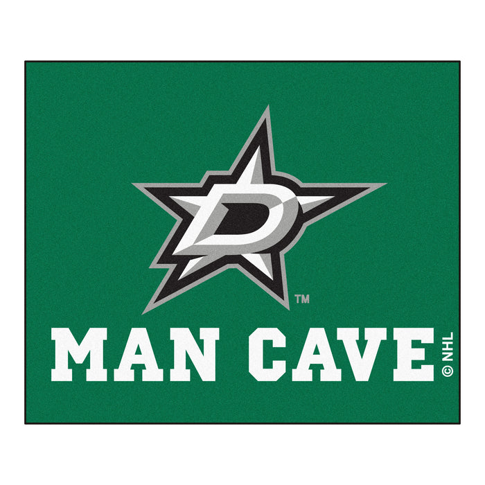 NHL - Dallas Stars Man Cave Tailgater Rug 5'x6' - Fan Cave Rugs