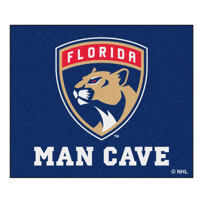 NHL - Florida Panthers Man Cave Tailgater Rug 5'x6'