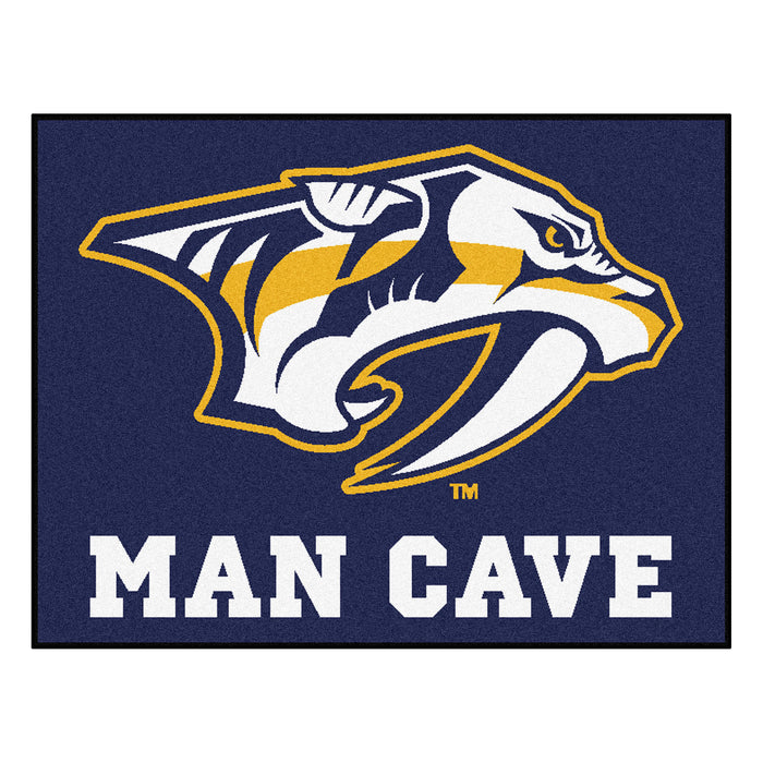 "NHL - Nashville Predators Man Cave All-Star Mat 33.75""x42.5"""