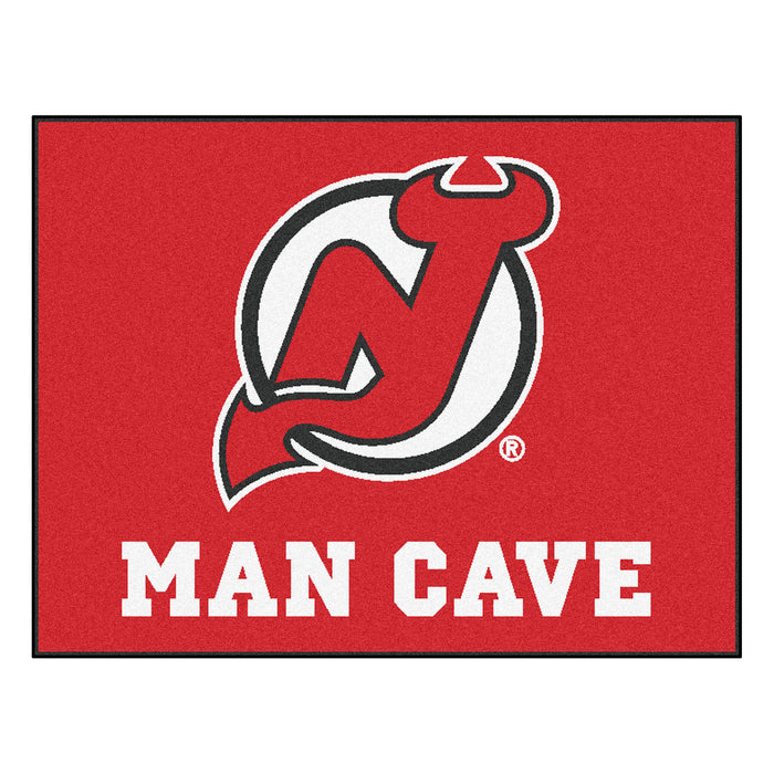 "NHL - New Jersey Devils Man Cave All-Star Mat 33.75""x42.5"""