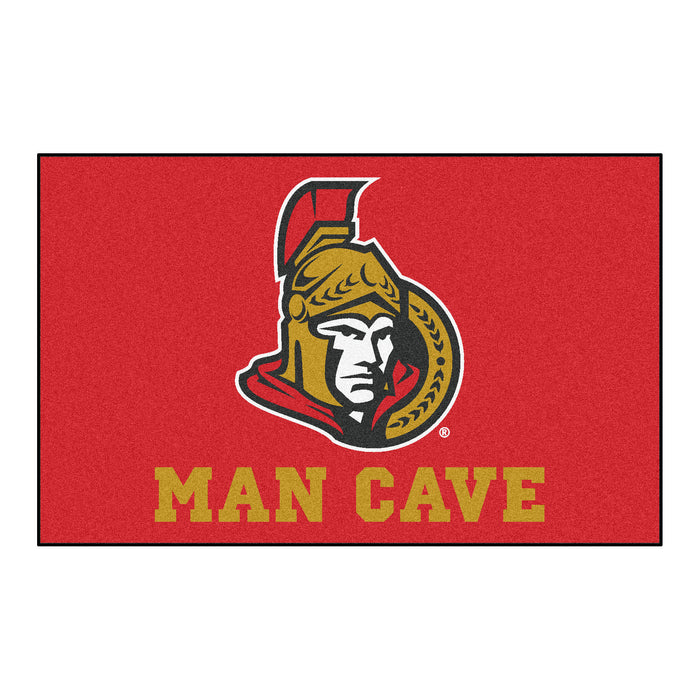 NHL - Ottawa Senators Man Cave UltiMat 5'x8' Rug