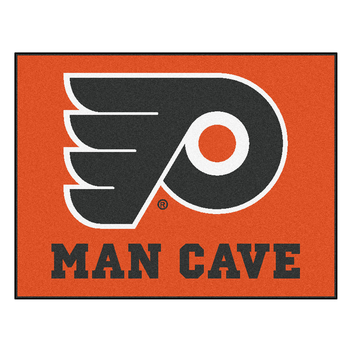 "NHL - Philadelphia Flyers Man Cave All-Star Mat 33.75""x42.5"""