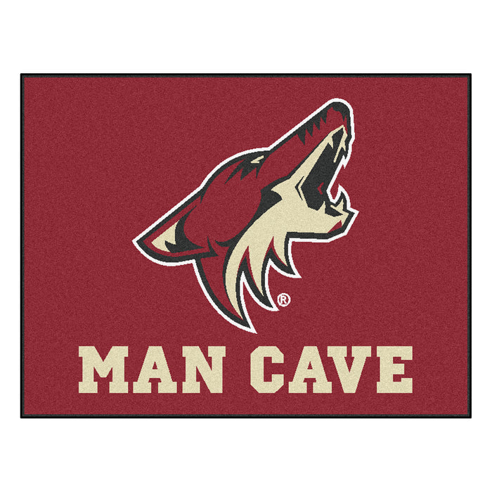 "NHL - Arizona Coyotes Man Cave All-Star Mat 33.75""x42.5"" - Fan Cave Rugs"