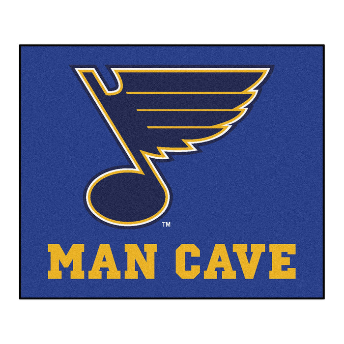 NHL - St. Louis Blues Man Cave Tailgater Rug 5'x6'