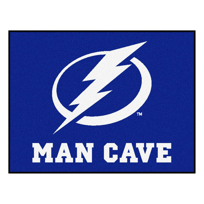 NHL   Tampa Bay Lightning Man Cave All Star Mat 33.75