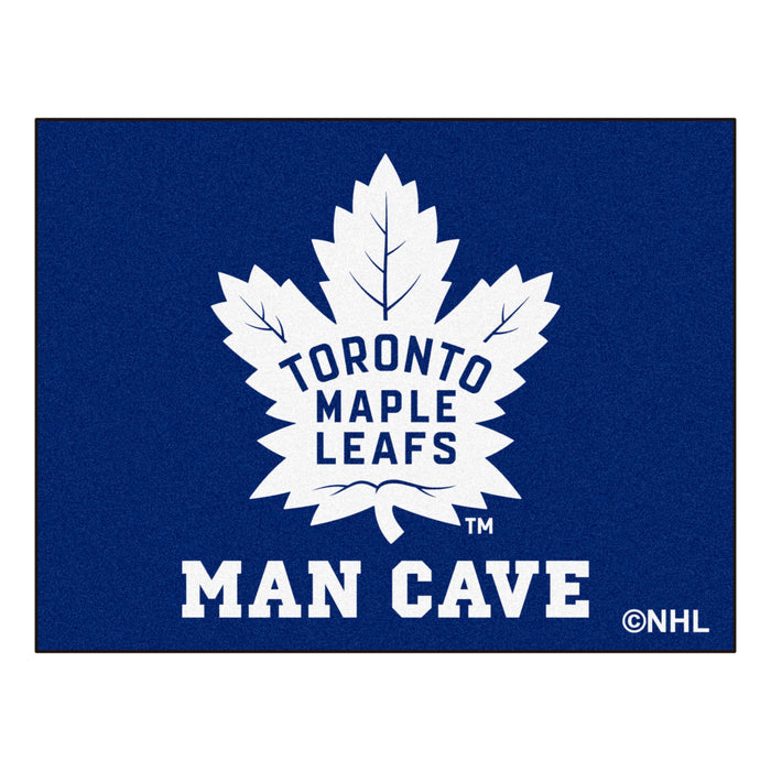 "NHL - Toronto Maple Leafs Man Cave All-Star Mat 33.75""x42.5"" - Fan Cave Rugs"