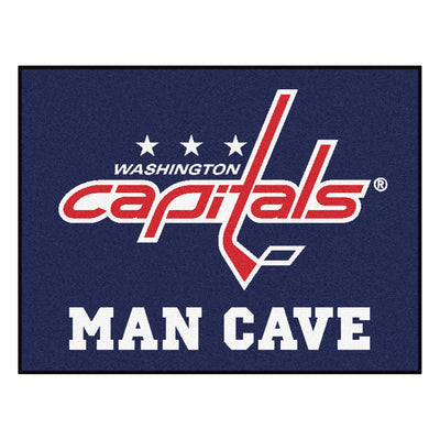 "NHL - Washington Capitals Man Cave All-Star Mat 33.75""x42.5"" - Fan Cave Rugs"