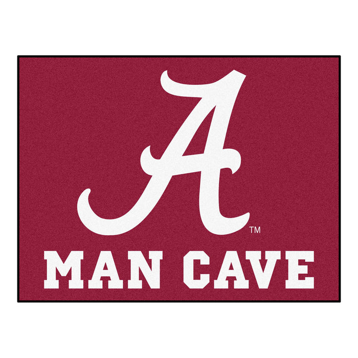 "Alabama Man Cave All-Star Mat 33.75""x42.5"" - Fan Cave Rugs"
