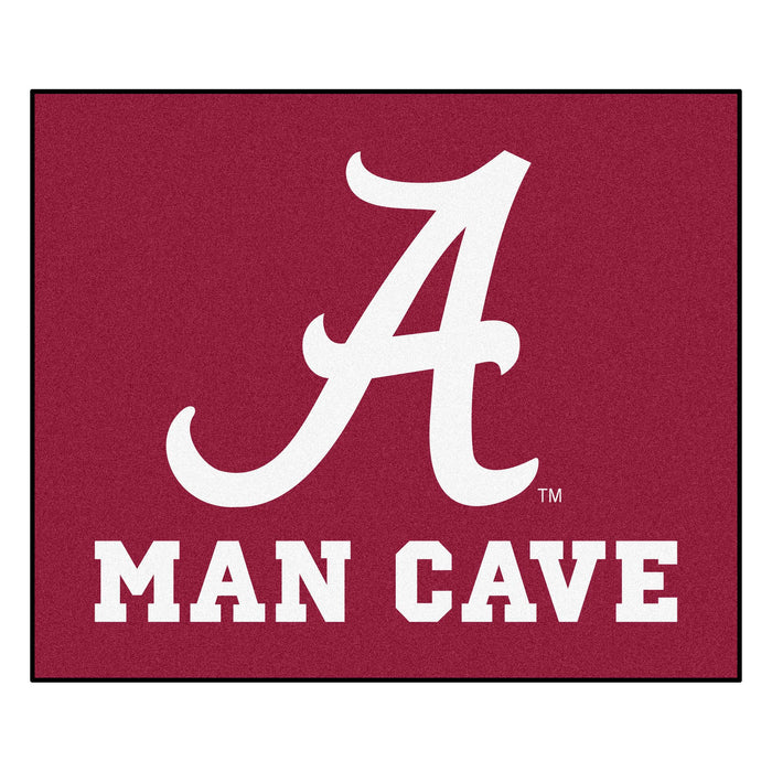 Alabama Man Cave Tailgater Rug 5'x6' - Fan Cave Rugs