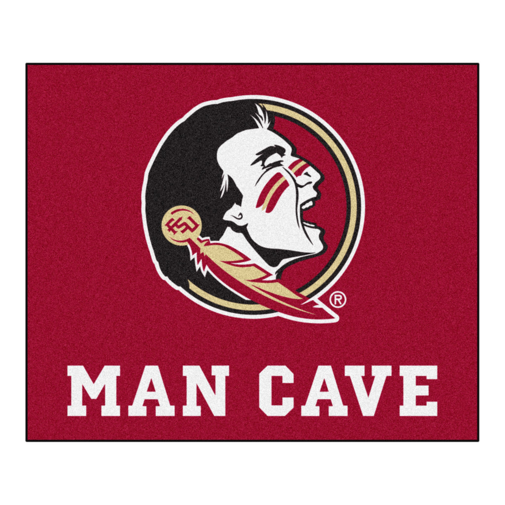 Florida State Man Cave Tailgater Rug 5'x6'