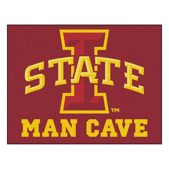 "Iowa State Man Cave All-Star Mat 33.75""x42.5"" From Fan Cave Rugs"