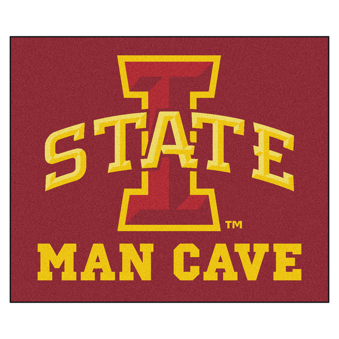Iowa State Man Cave Tailgater Rug 5'x6'